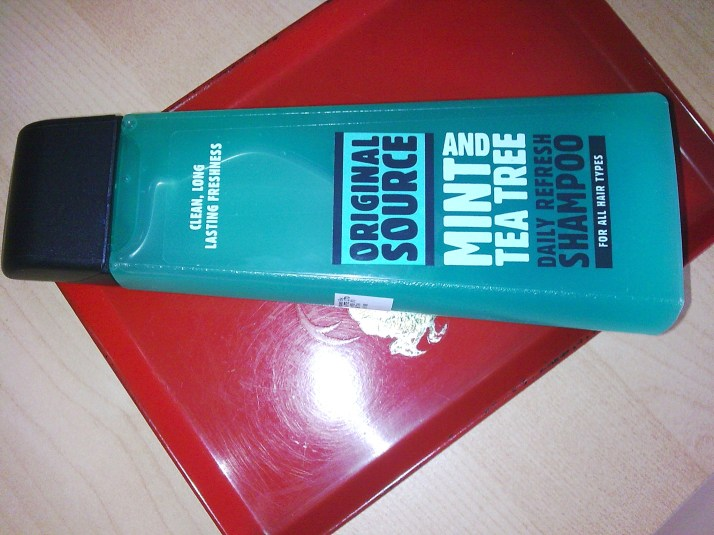 cool mint shampoo
