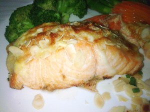 salmon stuffed!