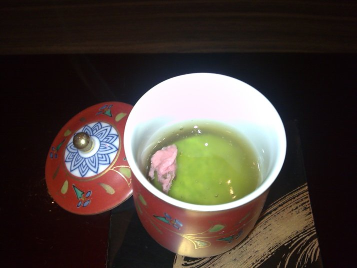 Sweet green pea puree