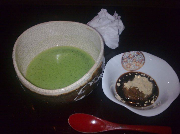 Sayonara with macha n mochi